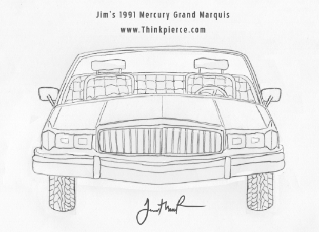 Jim's 1991 Mercury Grand Marquis
