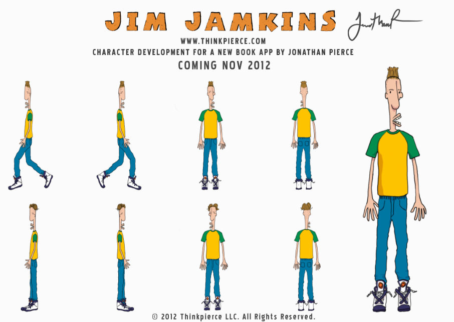 Character Development for Jim Jamkins