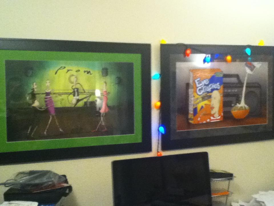 More art for the Thinkpierce Home office