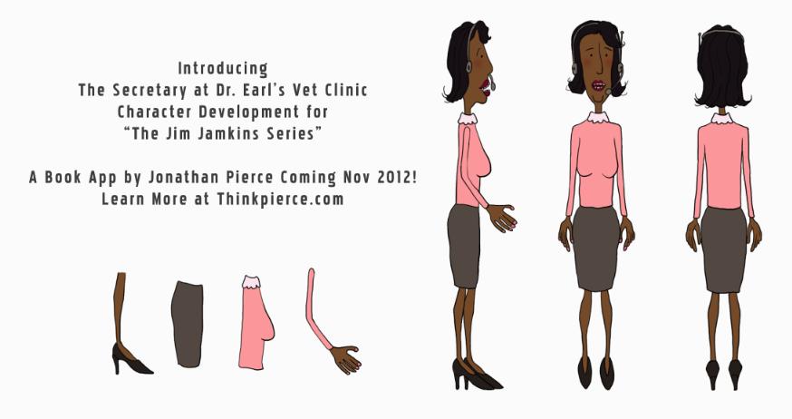 The Jim Jamkins Book App, Coming Nov 2012. Thinkpierce.com