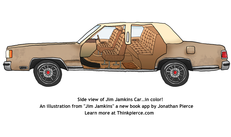 Jim Jamkins Car by Jonathan Pierce. Learn more at Thinkpierce.com