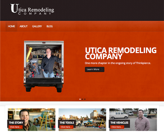 Jonathan introduces uticaremodeling.com