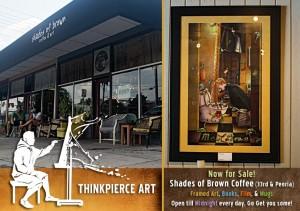 Thinkpierce Art at Shades of Brown
